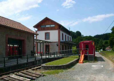 Estación del Plazaola en Lekunberri - Casa Rural Iturburu