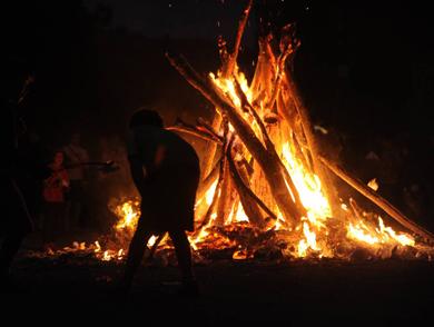 Fiesta de San Juan en Lekunberri - Casa Rural Iturburu