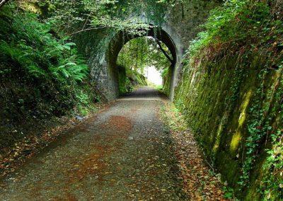 Vía verde del Plazaola en Lekunberri