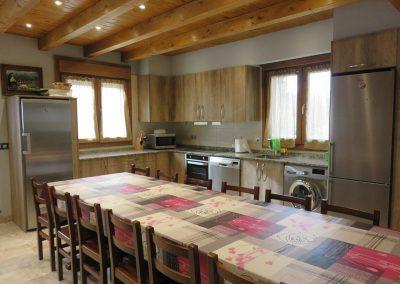 Comedor y Cocina Casa Rural Iturburu
